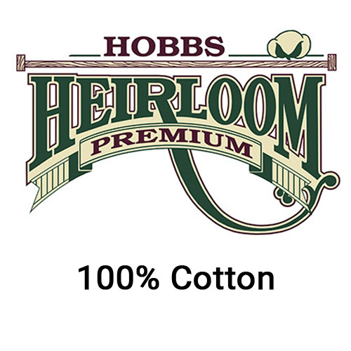 Hobbs Heirloom Premium 100% Cotton Needlepunched Quilt Batting