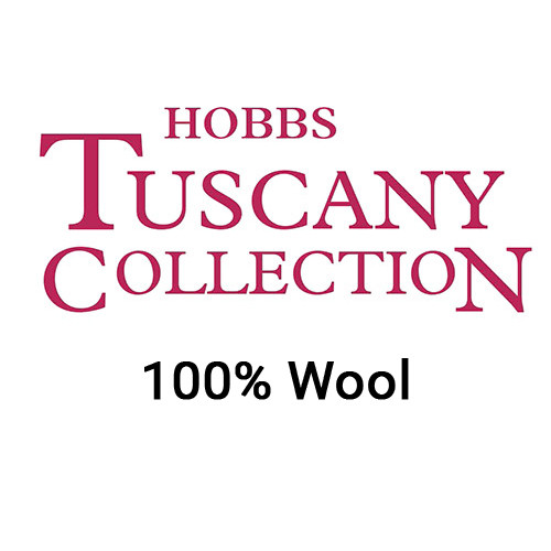 Hobbs Tuscany Superwashed 100% Wool Quilt Batting (Packaged by Hand)