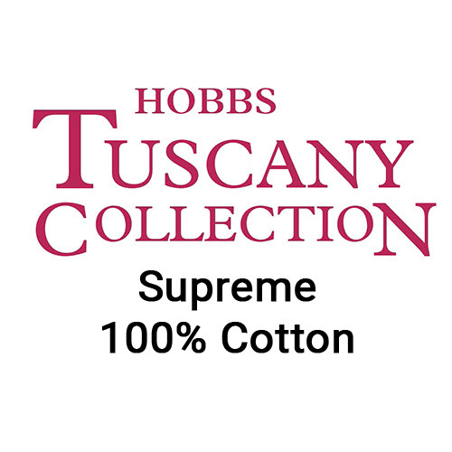 Hobbs Tuscany Supreme 100% Unbleached Cotton Quilt Batting