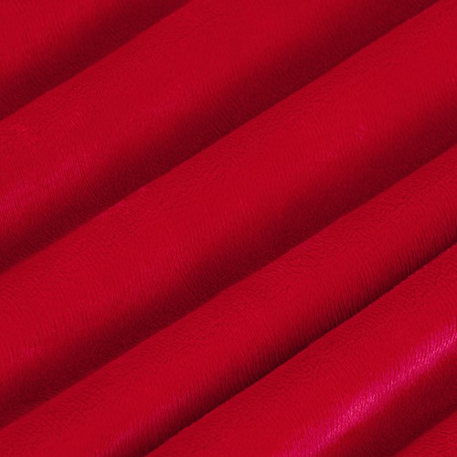 "Red 60"" Solid Minky Cuddle Fabric"