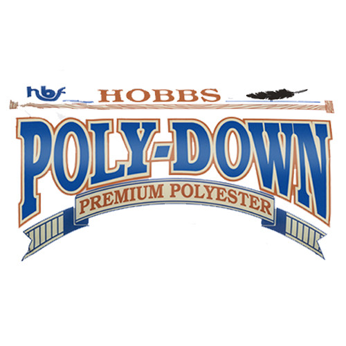 Poly-Down 100% Premium Polyester Quilt Batting