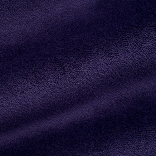 """Eggplant 90"""" Solid Minky Cuddle Wide Back Fabric"""
