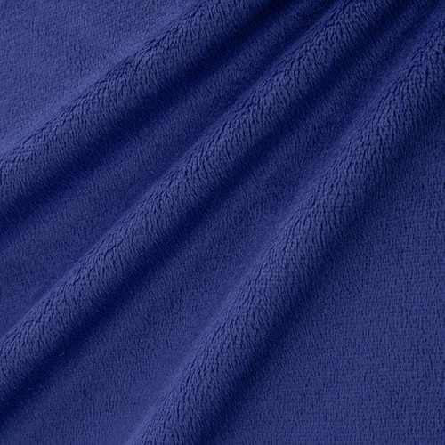 """Midnight 90"""" Solid Minky Cuddle Wide Back Fabric"""
