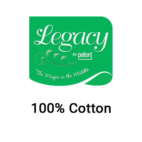 Legacy 100% Cotton Needlepunched Quilt Batting with Scrim