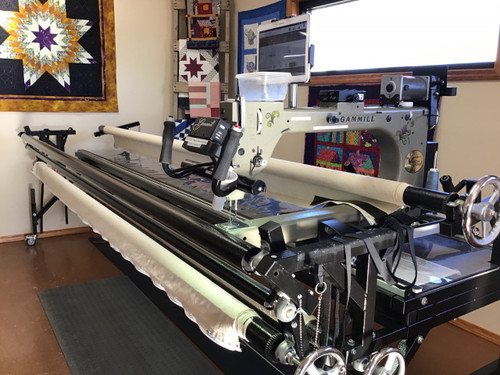 PATTY - Gammill Vision 2.0 - Hand-Guided Longarm Quilting Machine