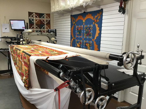 SAM - Gammill Statler - Computerized & Hand-Guided Longarm Quilting Machine