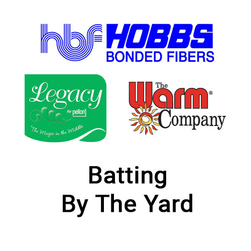 Batting By The Yard - Hobbs Bonded Fibers, Warm Company, & Legacy/Pellon