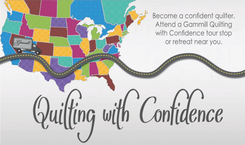 Gammill Quilting with Confidence Tour | Longarm Quilting Machine Educational Events