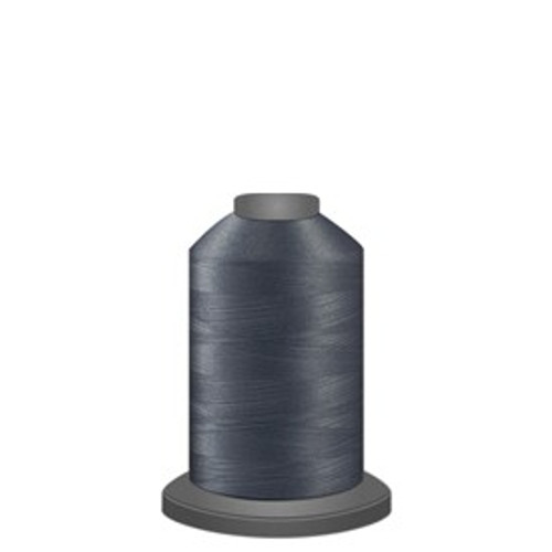 Glide - Medium Grey - 10424 - Spool - 1100 yds - Trilobal Poly No. 40 Embroidery & Quilting Thread