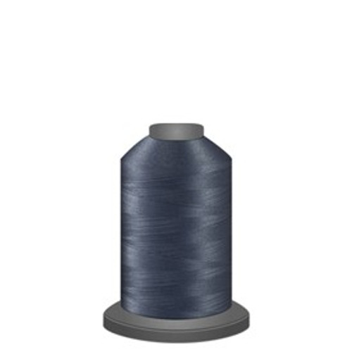Glide - Titanium - 10431 - Spool - 1100 yds - Trilobal Poly No. 40 Embroidery & Quilting Thread