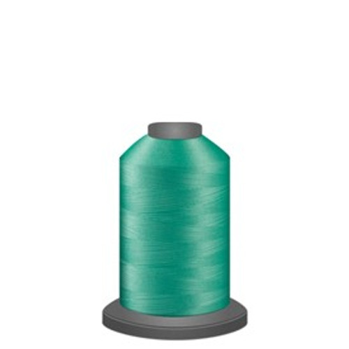 Glide - Mint - 60345 - Spool - 1100 yds - Trilobal Poly No. 40 Embroidery & Machine Quilting Thread