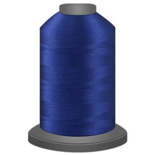 Glide - Bright Blue - 30288 - Cone - 5500 yds - Trilobal Poly No. 40 Embroidery & Machine Quilting Thread