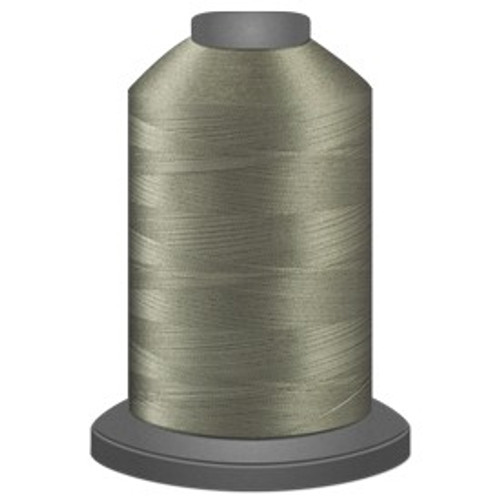 Glide - German Granite - 10401 - Cone - 5500 yds - Trilobal Poly No. 40 Embroidery & Machine Quilting Thread