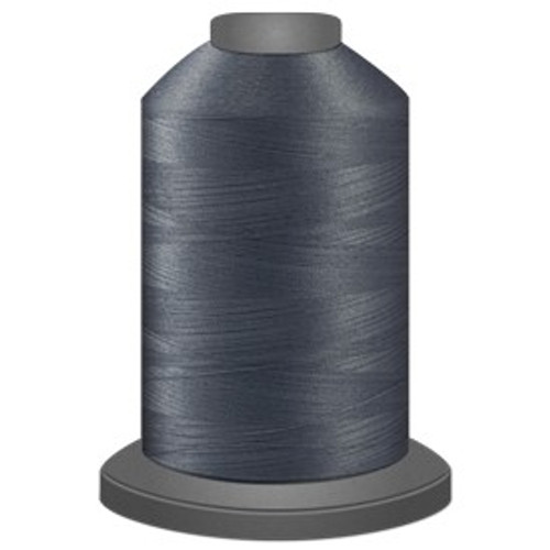 Glide - Medium Grey - 10424 - Cone - 5500 yds - Trilobal Poly No. 40 Embroidery & Machine Quilting Thread