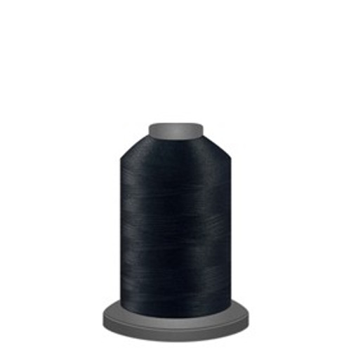 Glide - Black - 11001 - Spool - 1100 yds - Trilobal Poly No. 40 Embroidery & Quilting Thread