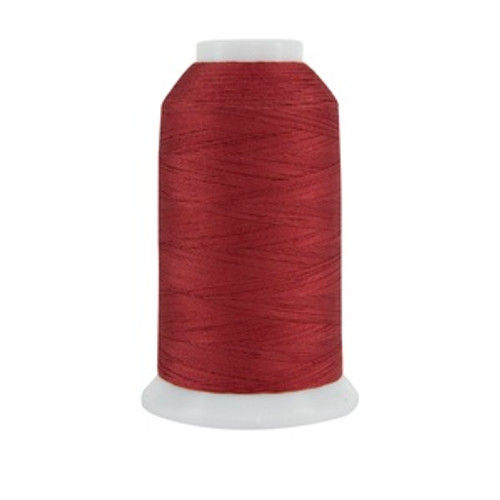 King Tut - 1021 - Amish Red - Cone - 2000 yds - 100% Eqyptian-grown Cotton Variegated Machine Quilting Thread