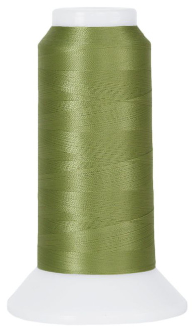 MicroQuilter - 7025 - Sage  - Cone - 3000 yds - 100 wt 2-Ply Polyester Applique & Machine Quilting Thread