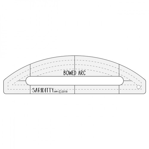 Bowed Arc Longarm Ruler