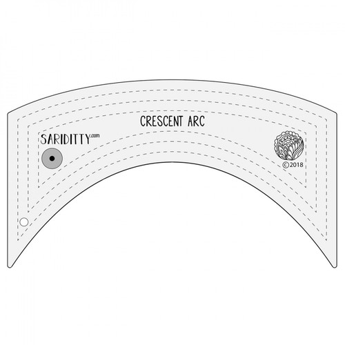 Crescent Arc Longarm Ruler