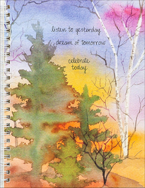 """""""Art of Colorful Woods"""" Journal Designed by Katie George"""