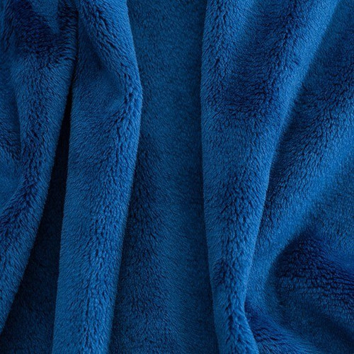 """Royal 90"""" Solid Minky Cuddle Wide Back Fabric"""