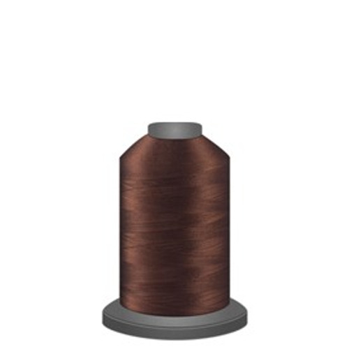 Glide - Chocolate - 20469 - Spool - 1100 yds - Trilobal Poly No. 40 Embroidery & Quilting Thread