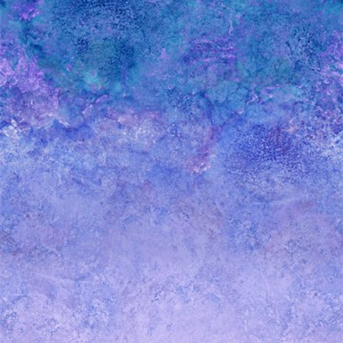 "Stonehenge Ombre Twilight 108"" Cotton Wide Back Quilt Fabric by Linda Ludovico"