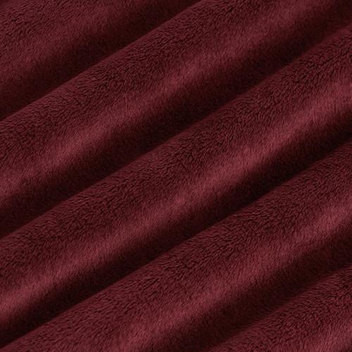 "Merlot 90"" Solid Minky Cuddle Wide Back Fabric"