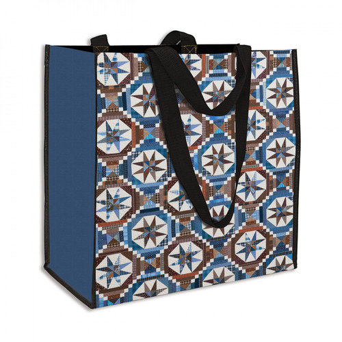 Smith Mountain Morning Quilt Eco Tote Bag - Designed by Bonnie Hunter