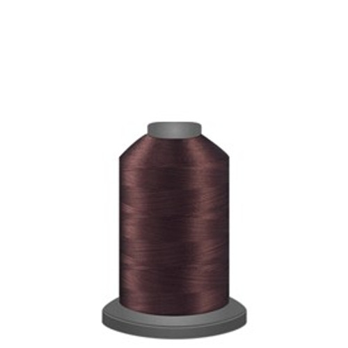 Glide - Dark Brown - 20476 - Spool - 1100 yds - Trilobal Poly No. 40 Embroidery & Quilting Thread