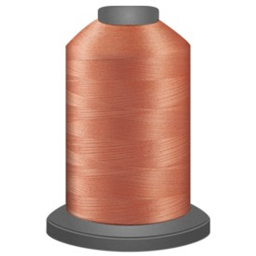 Glide - Coral - 51625 - Cone - 5500 yds - Trilobal Poly No. 40 Embroidery & Machine Quilting Thread