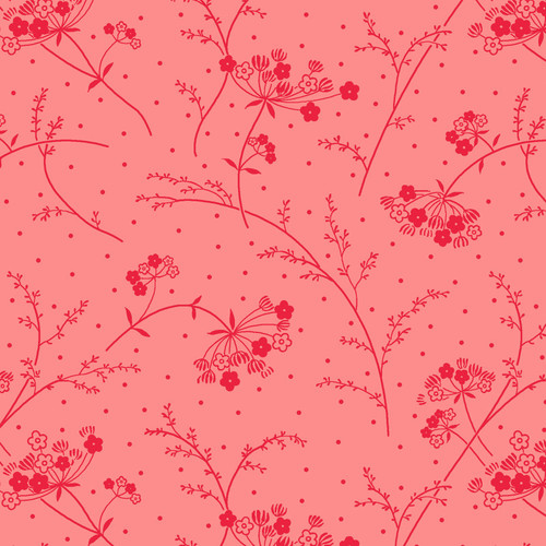 """Make A Wish - Pink - 108"""" Cotton Wide Back Quilt Fabric by KimberBell Designs"""