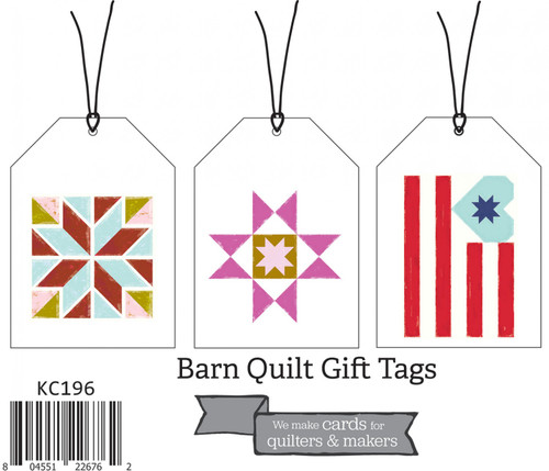 Barn Quilt Gift Tags (Set of 3)