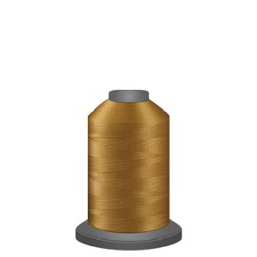 Glide - Military Gold - 27407 - Spool - 1100 yds - Trilobal Poly No. 40 Embroidery & Quilting Thread