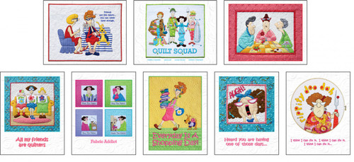 Quilt Ladies Note Cards by Amy Bradley