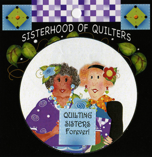 """""""Quilting Sisters"""" Harmony Button by Jody Houghton"""