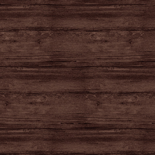 "Washed Wood Espresso 108"" Cotton Wide Back Quilt Fabric"