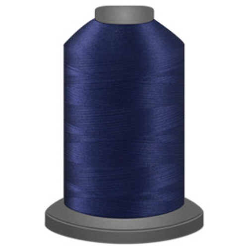 Glide - Captain Navy - 30655  - Cone - 5500 yds - Trilobal Poly No. 40 Embroidery & Machine Quilting Thread