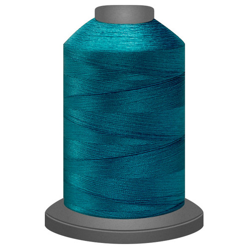 Glide - Lagoon - 32237- Cone - 5500 yds - Trilobal Poly No. 40 Embroidery & Machine Quilting Thread