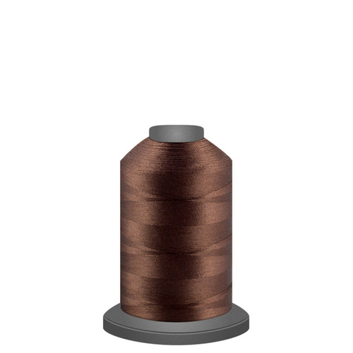 Glide - Brownie - 27596 - Spool - 1100 yds - Trilobal Poly No. 40 Embroidery & Machine Quilting Thread