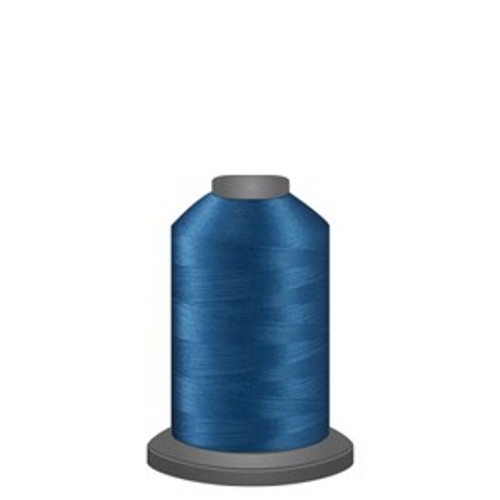Glide - Cerulean - 30308 - Spool - 1100 yds - Trilobal Poly No. 40 Embroidery & Quilting Thread