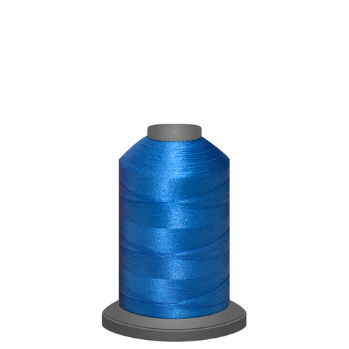 Glide - Air Force Blue 32382 - Spool - 1100 yds - Trilobal Poly No. 40 Embroidery & Machine Quilting Thread