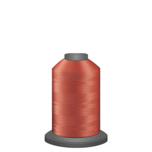Glide - Salmon - 50170 - Spool - 1100 yds - Trilobal Poly No. 40 Embroidery & Machine Quilting Thread