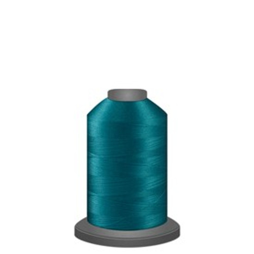 Glide - Aquamarine - 37474 - Spool - 1100 yds - Trilobal Poly No. 40 Embroidery & Quilting Thread