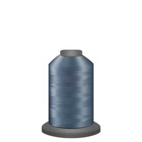 Glide - Steel Blue - 38201 - Spool - 1100 yds - Trilobal Poly No. 40 Embroidery & Quilting Thread