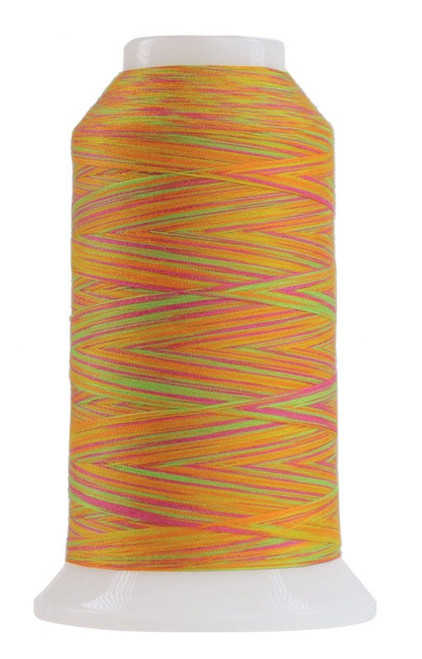 OMNI-V - 9043 - Glow Stick - Cone - 2000 yds - Poly-wrapped Poly Core Machine Quilting Thread