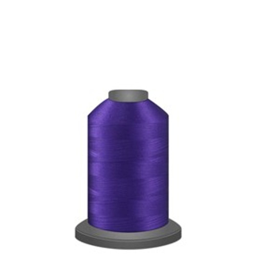 Glide - Raven - 42607 - Spool - 1100 yds - Trilobal Poly No. 40 Embroidery & Quilting Thread