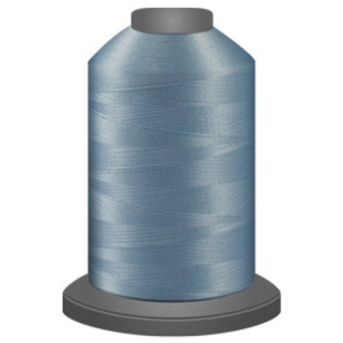 Glide - Baby Blue - 30290 - Cone - 5500 yds - Trilobal Poly No. 40 Embroidery & Machine Quilting Thread
