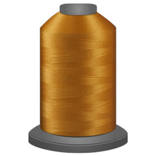 Glide - Pumpkin Seed - 51365 - Cone - 5500 yds - Trilobal Poly No. 40 Embroidery & Machine Quilting Thread