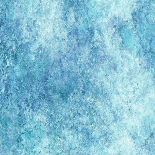 """Stonehenge Sky Blue 108"""" Cotton Wide Back Quilt Fabric by Linda Ludovico"""